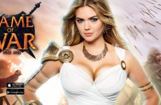 An Excuse to See Kate Upton Dressed as Athena
