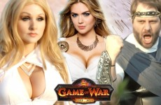 """Kate Upton Brings Out An Epic Rap Battle On """"Game Of War"""""""