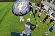 Long Drive Trick Shots by Dude Perfect