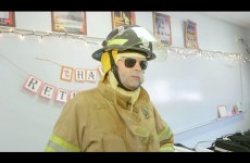 Bill Hader Pranks Make-A-Wish Kid's High School as Firefighter
