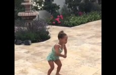 Riley Curry is at it Again!