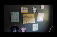 Surprise!!! You're going to be Grandparents!!!