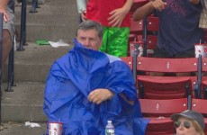 It's Hard to Put on a Poncho